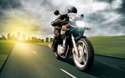 Wir machen Motorradfahrer.